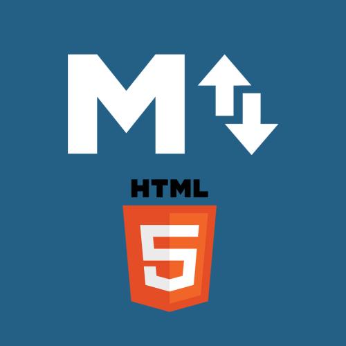 MarkUpDown application icon